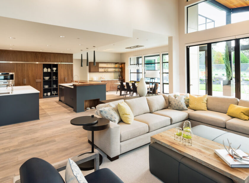 The home-is-life era: how to find privacy in an open-plan home -
