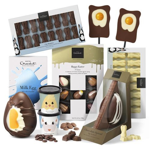 Photograph of Easter Family Favourites Collection hamper by Hotel Chocolate